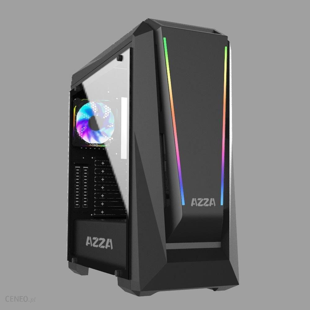 Azza Chroma 410A okno czarny (CSAZ-410A)