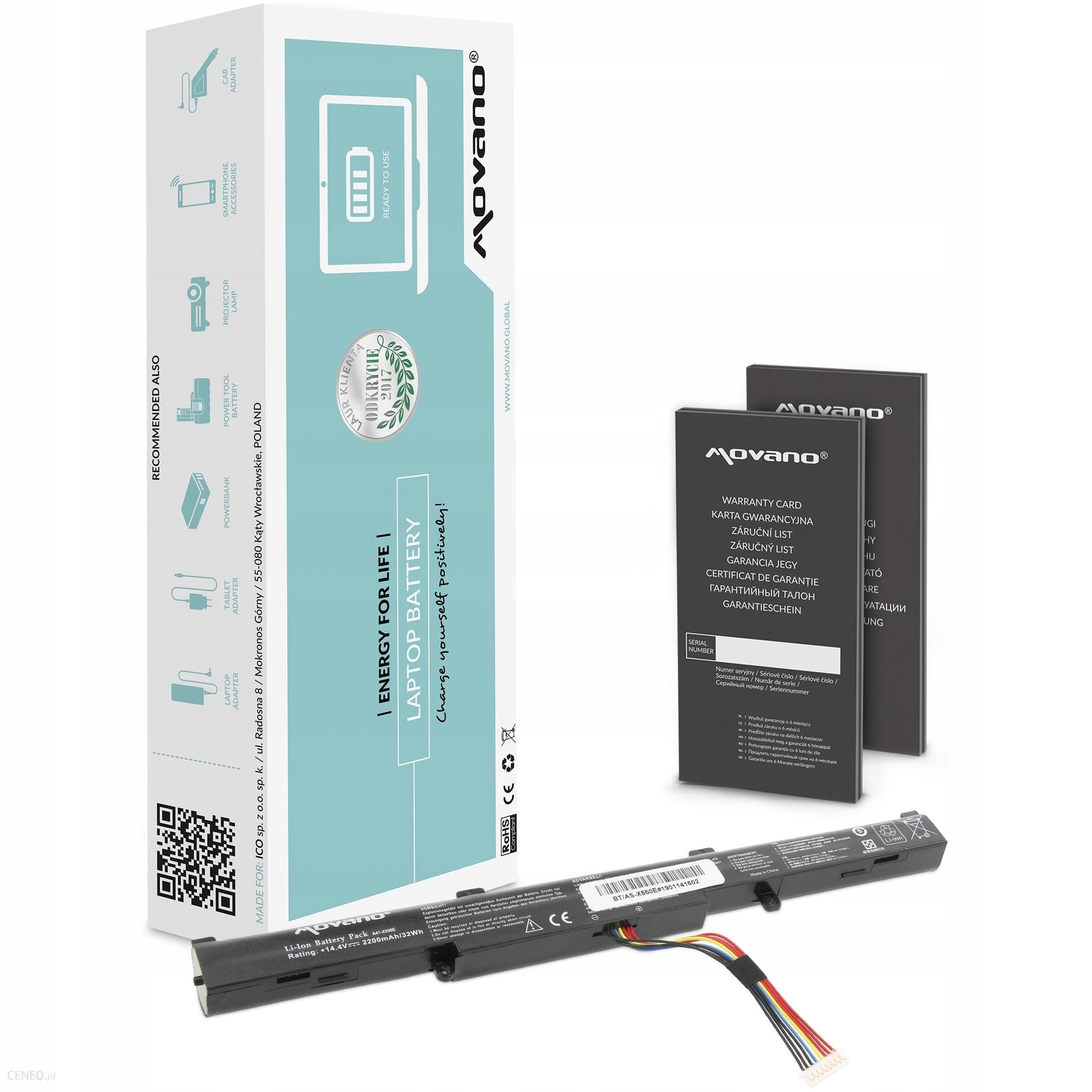 Bateria A41-X550E do Asus F750JA F750JB F750L