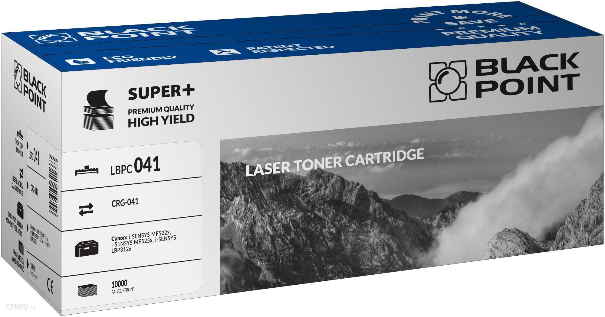 Black Point Zgodny z Canon CRG-041 Super PLUS do Canon i-SENSYS MF522x, i-SENSYS MF525x, i-SENSYS LBP312x