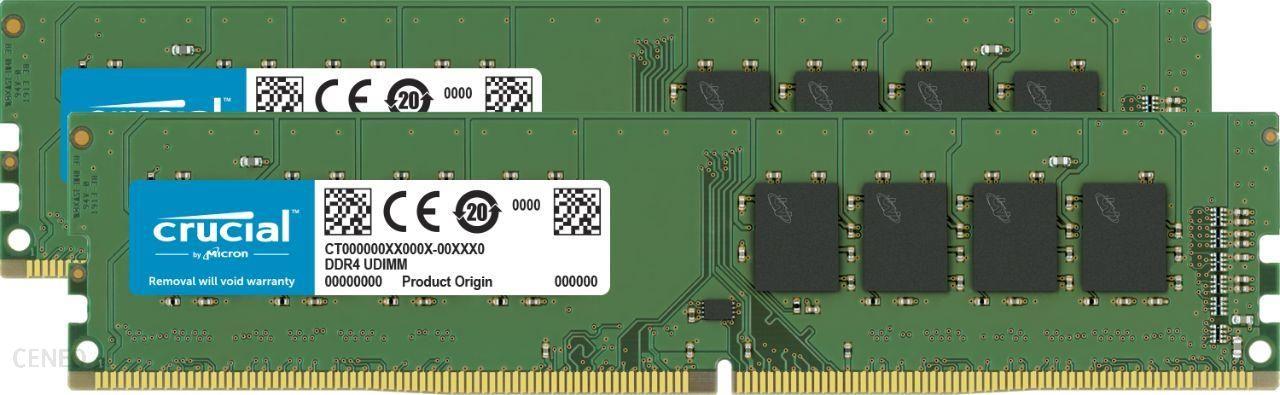 Crucial 8GB (2x4GB) DDR4 2666MHz CL19 (CT2K4G4DFS8266)