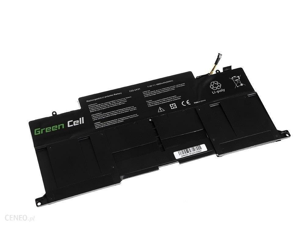 Green Cell Asus ZenBook UX31 UX31A UX31E / 7,4V 6800mAh