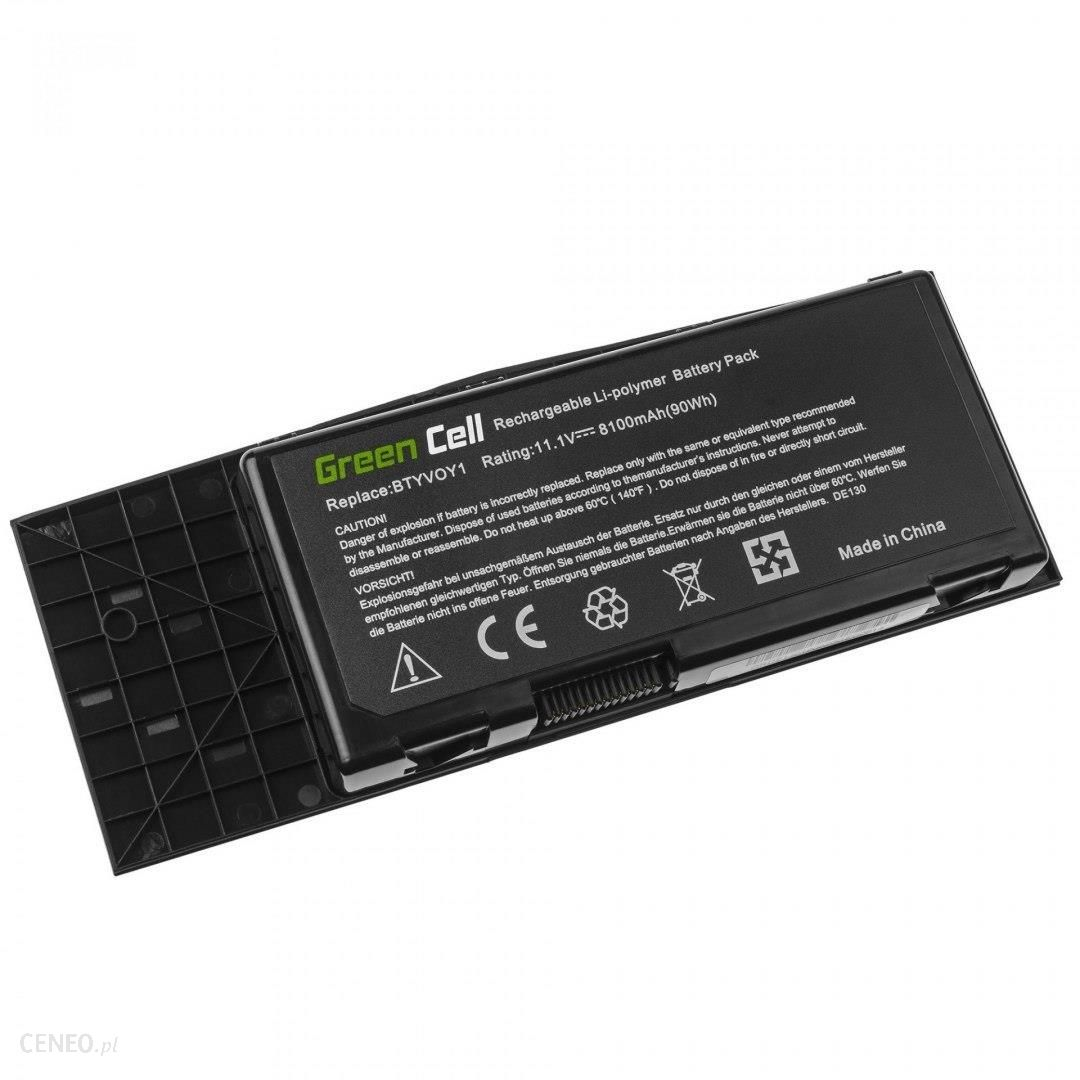 Green Cell BTYVOY1 do Dell Alienware M17x R3 M17x R4