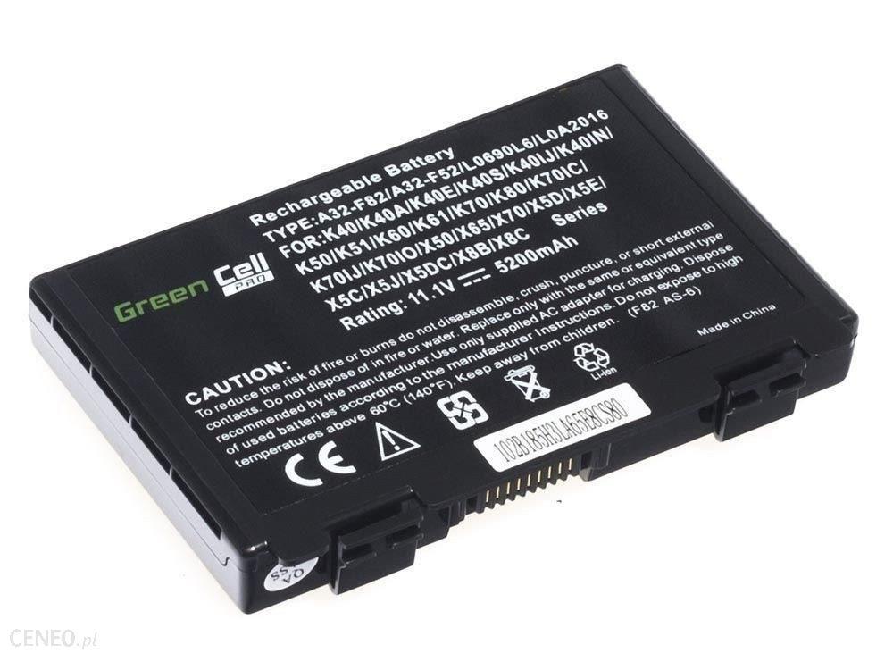 Green Cell PRO Asus A32-F82 K40 K50 K60 K70 / 11,1V 5200mAh