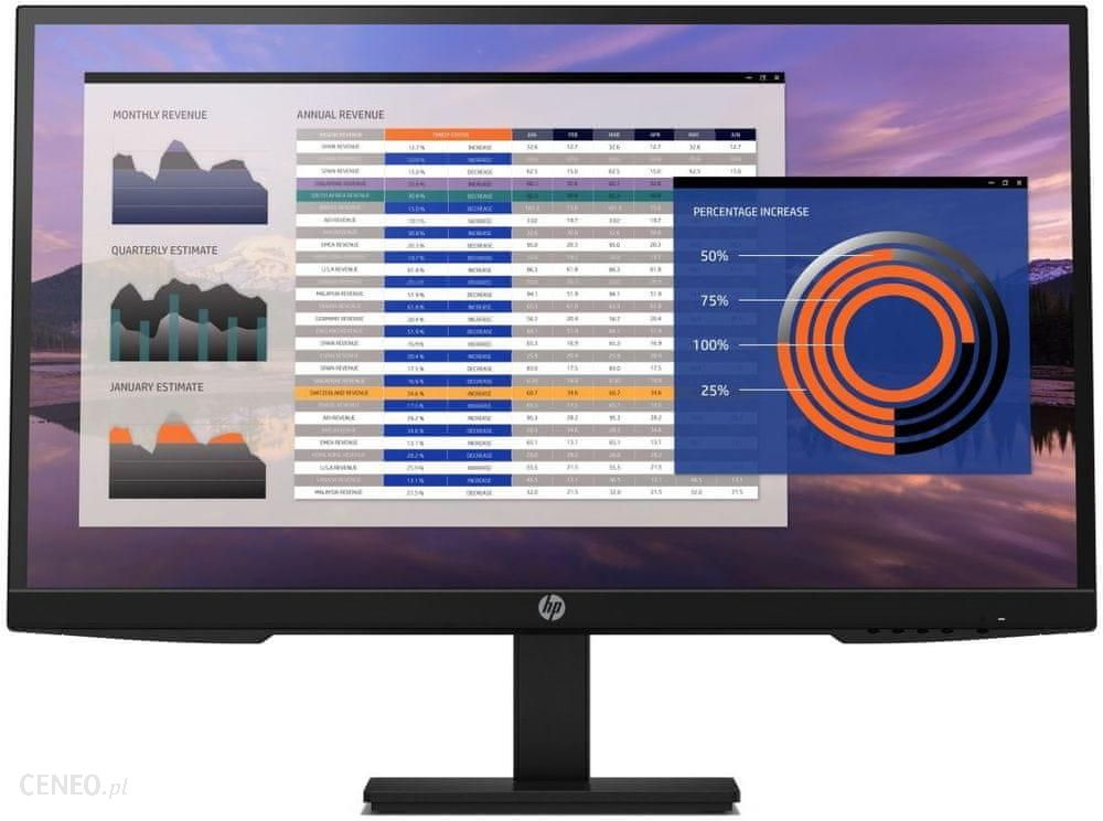 Monitor HP 27″ P27h G4 czarny (7VH95AA)