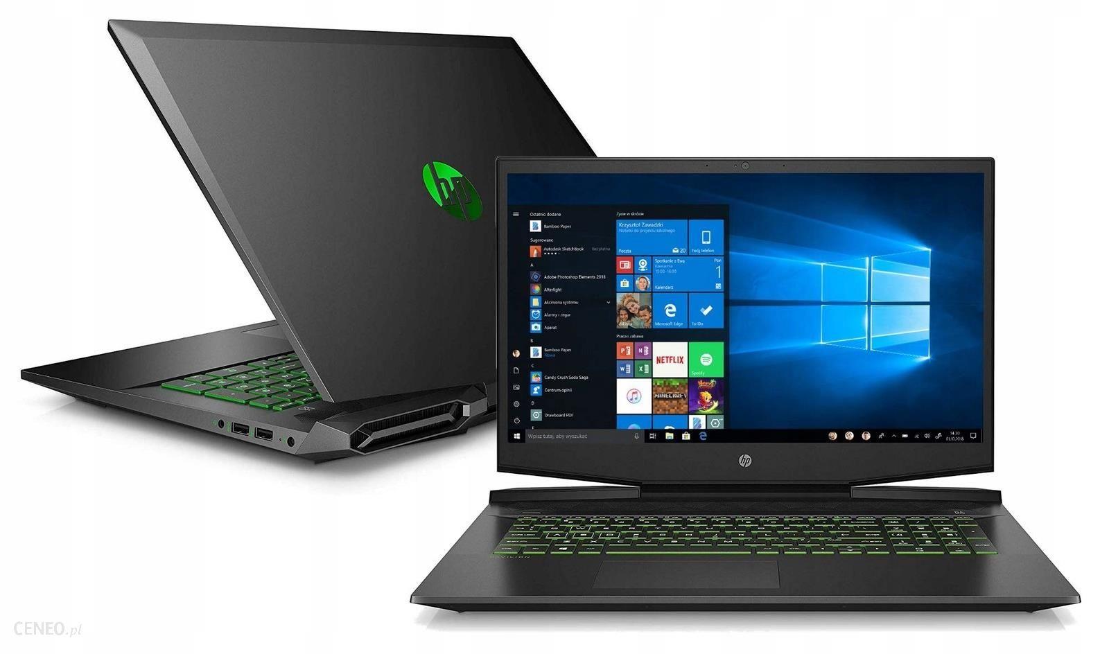 Laptop HP Pavilion Gaming 17-cd0020nw 17,3″/i5/8GB/512GB/Win10 (7PW33EA)