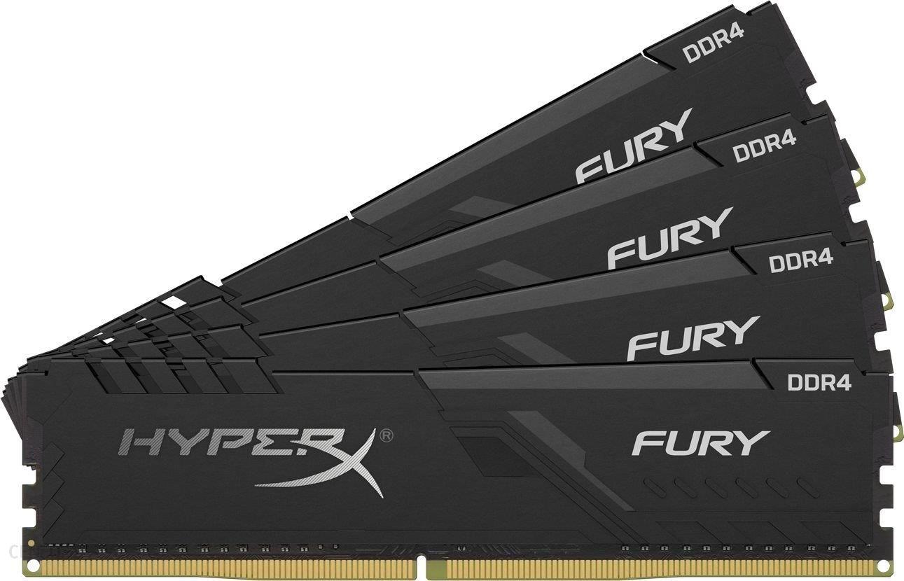 HyperX Fury Black 128GB (4x32GB) DDR4 2666MHz CL16 (HX426C16FB3K4/128)