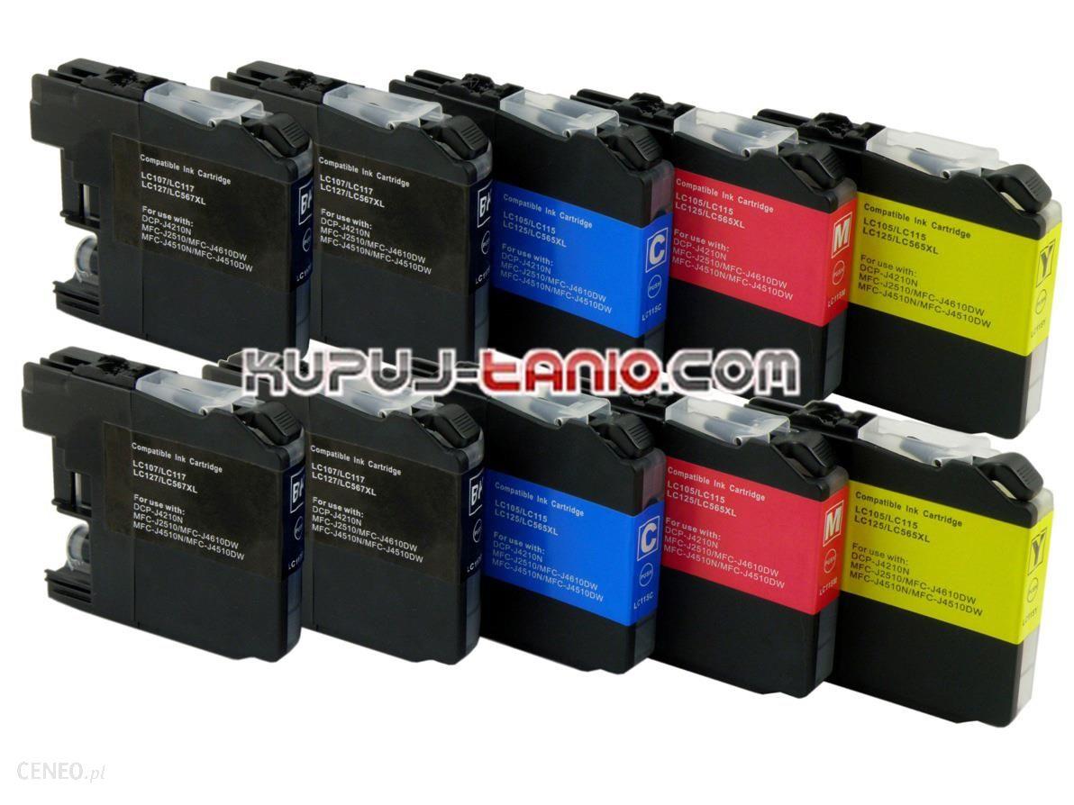 Kupuj-Tanio LC125/LC127 do (10 szt.) MFC-J4510DW, MFC-J4410DW, DCP-J4110DW, MFC-J4710DW