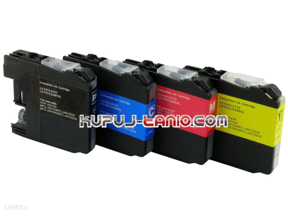 Kupuj-Tanio LC125/LC127 do (4 szt.) MFC-J4510DW, MFC-J4410DW, DCP-J4110DW, MFC-J4710DW