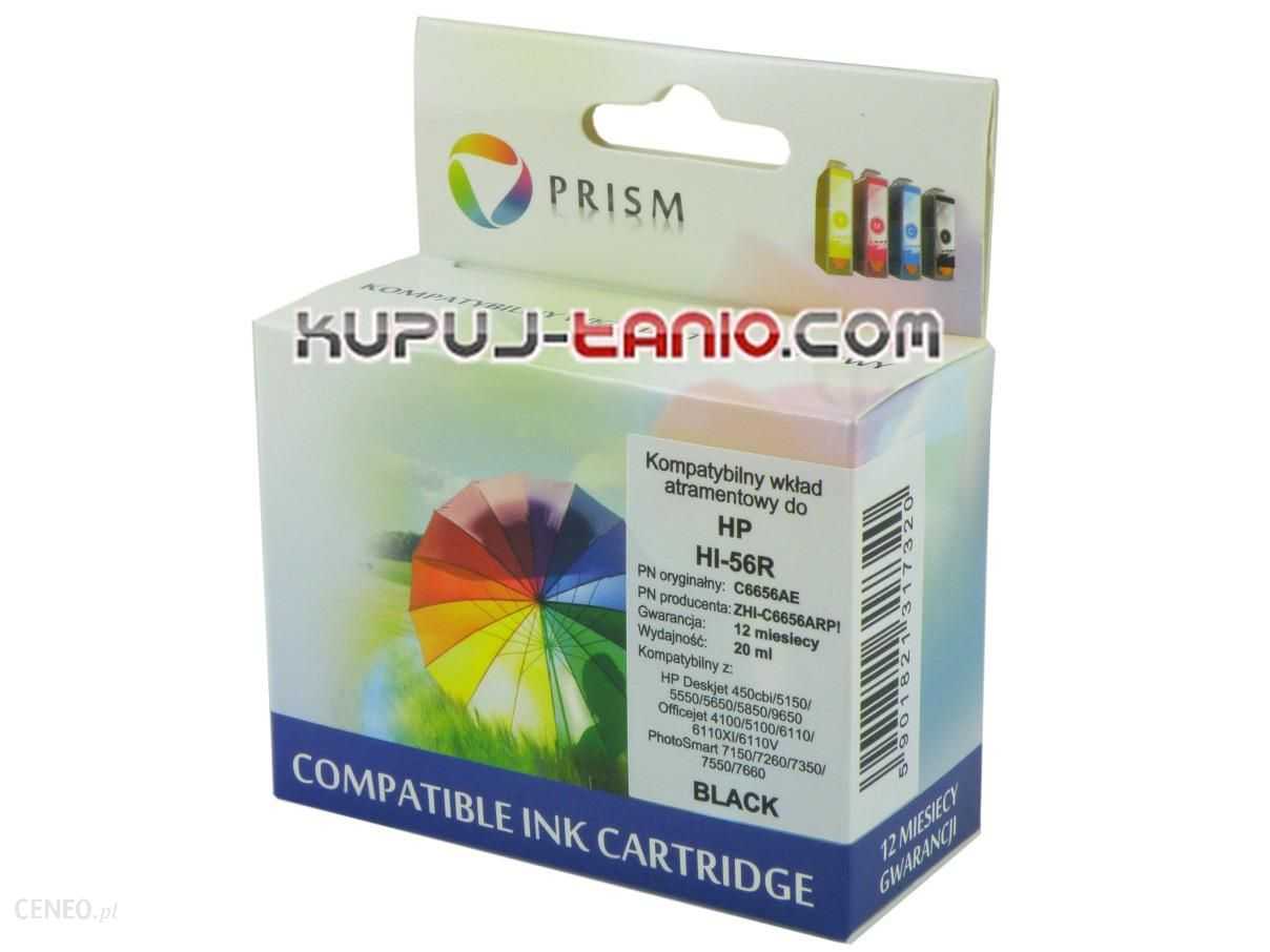 Prism HP 56 (R, Prism) do HP Officejet 6110, HP PSC 1315, HP PSC 1210, HP PSC 2210, HP PSC 1215, HP PSC 1310