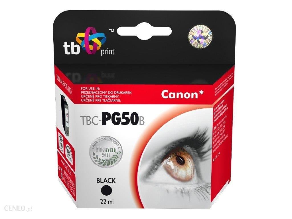 Tusz do Canon PG-50 TBC-PG50B Bk ref.